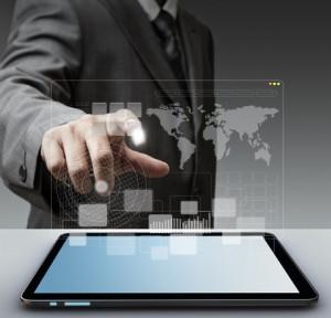 touch virtual screen computer interface mobile app development